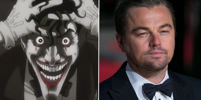 Leonardo DiCaprio, a  destra, e Joker, a sinistra.