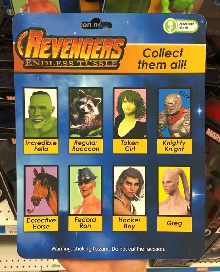 Obvious Plant ha realizzato delle bruttissime action figures degli Avengers