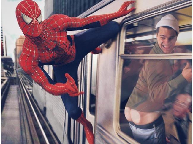 Rob con Spider-Man
