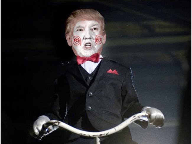 Trump in Saw