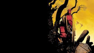 Hellboy disegnato da Mike Mignola