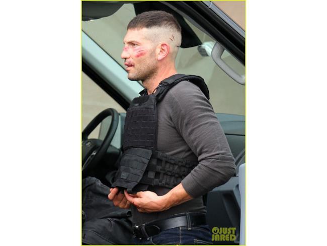 Frank Castle dopo uno scontro