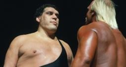 André the Giant di fronte ad Hulk Hogan