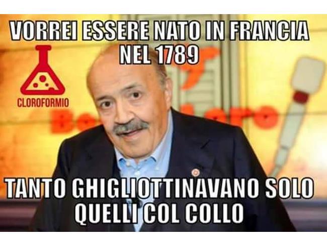 Maurizio Costanzo e la Rivoluzione Francese