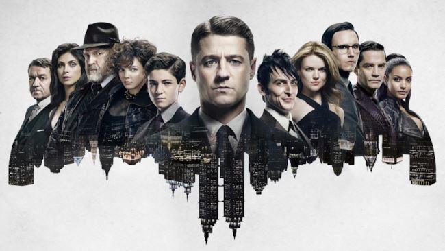 I protagonisti della serie TV Gotham