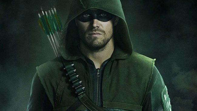 Il logo ufficiale della serie TV Arrow