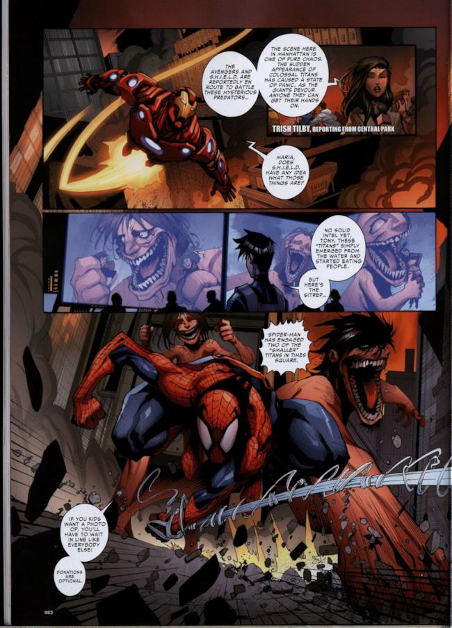 Attack on Avengers, pagina 1