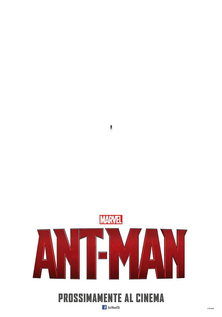 Primo poster ufficiale italiano di Ant-Man