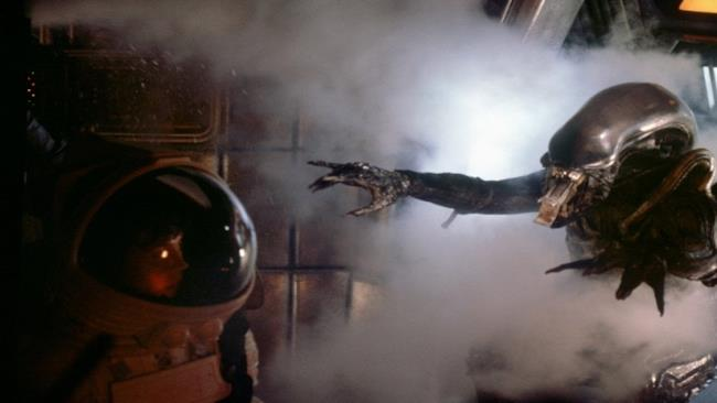 Una scena dal primo Alien