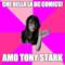 che bella la dc comics! Amo Tony Stark