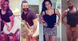 Un simpatico barbuto ricrea selfie postati su Tinder