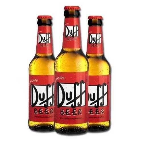 Bottiglie di Birra Duff