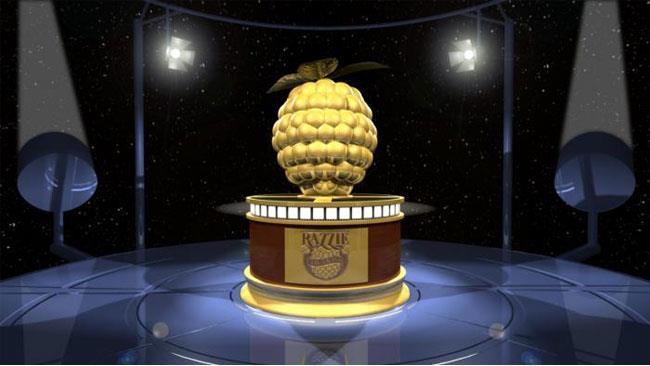 L'ambito trofeo dei Razzie Awards