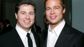 Brad Pitt assieme a suo fratello