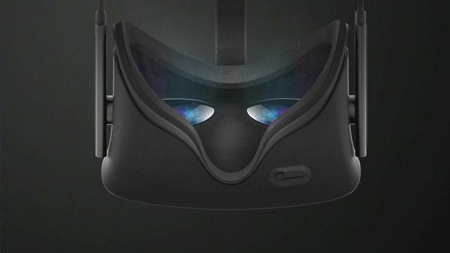 Immagine di anteprima dell'headset Oculus Rift in arrivo nel 2016