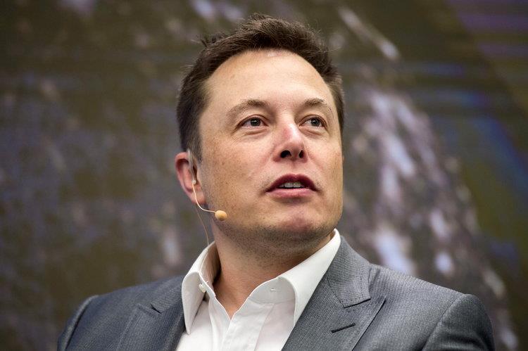 La foto di Elon Musk