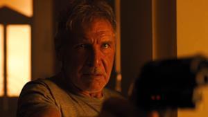 Harrison Ford in una scena di Blade Runner 2049