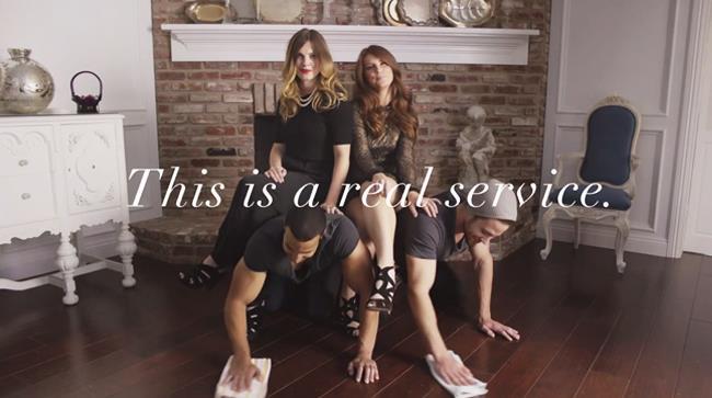 Man Servants è il servizio per le donne che hanno bisogno di schiavi