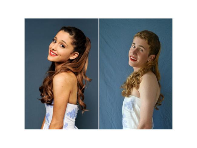 Versione low cost di Ariana Grande