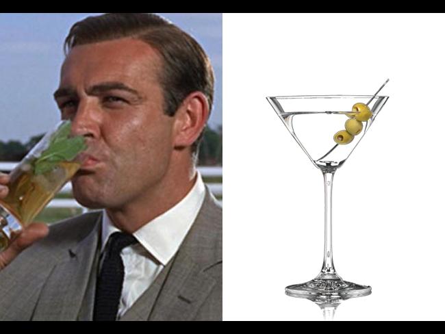 James Bond e il suo Vodka Martini