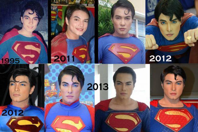La trasformazione di Herbert Chavez in Superman