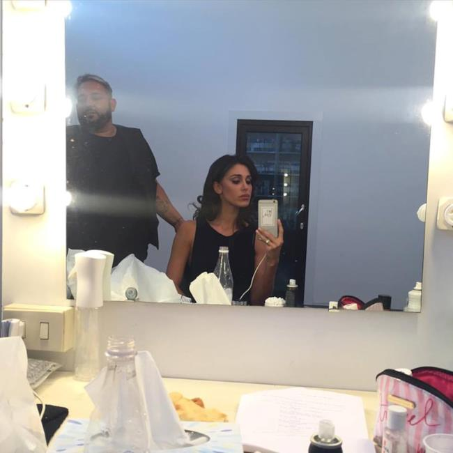 Belen in camerino si prepara alle riprese di Don Matteo 10