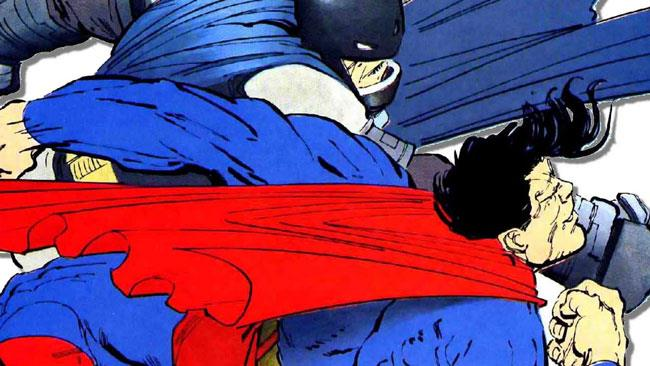 Batman contro Superman nei fumetti di Frank Miller