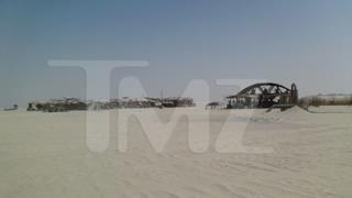 Foto delle dune di Tatooine