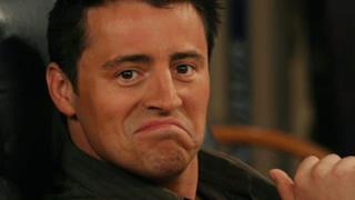 L'attore Matt LeBlanc con un'espressione compiaciuta