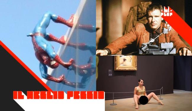 Collage dei post più letti su FlopTV nella settimana