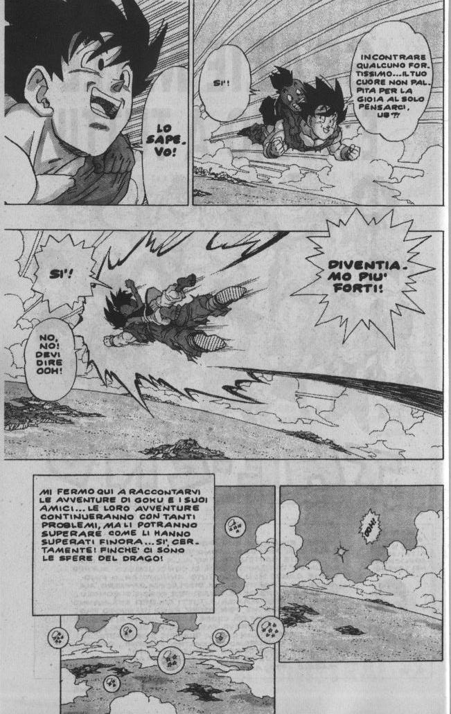 Goku e Ub partono nel finale di Dragon Ball