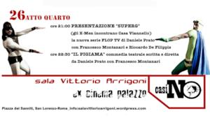 "Francesco Montanari presenta Super G ""In Pigiama"""