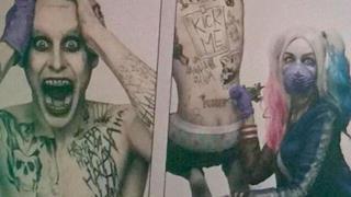 Harley Quinn tatua il Joker