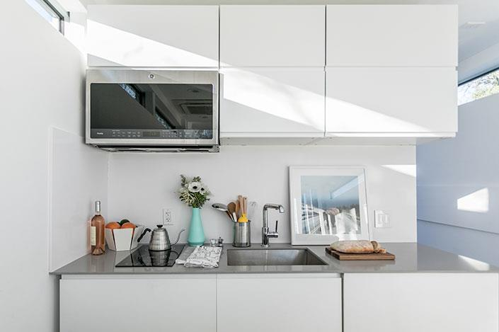 Kasita è dotata anche di una mini cucina
