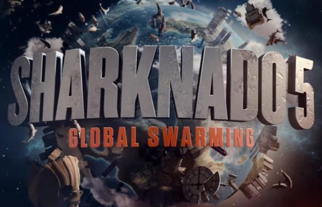 Il logo di Sharknado 5