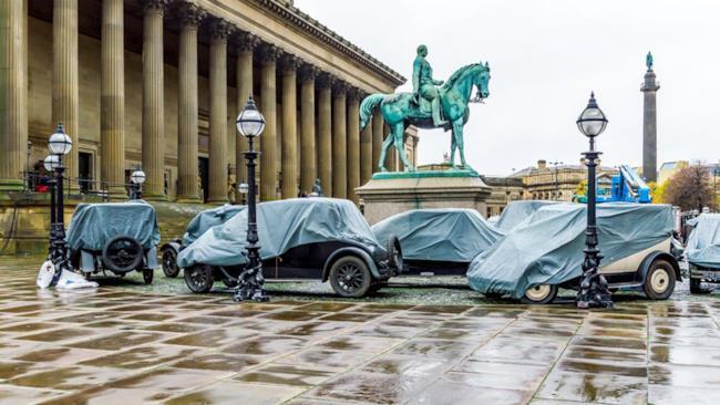 Automobili in stile anni '20 visibili sul set di Gli Animali Fantastici: dove trovarli