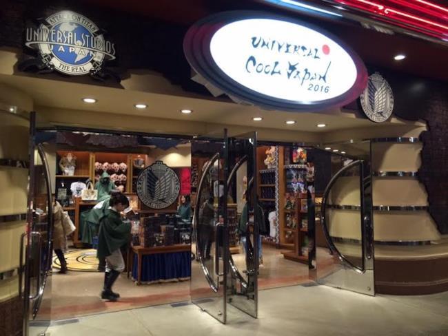 In Giappone apre il negozio a tema dell' Attacco dei Giganti