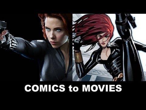 Paragone tra i film e i fumetti