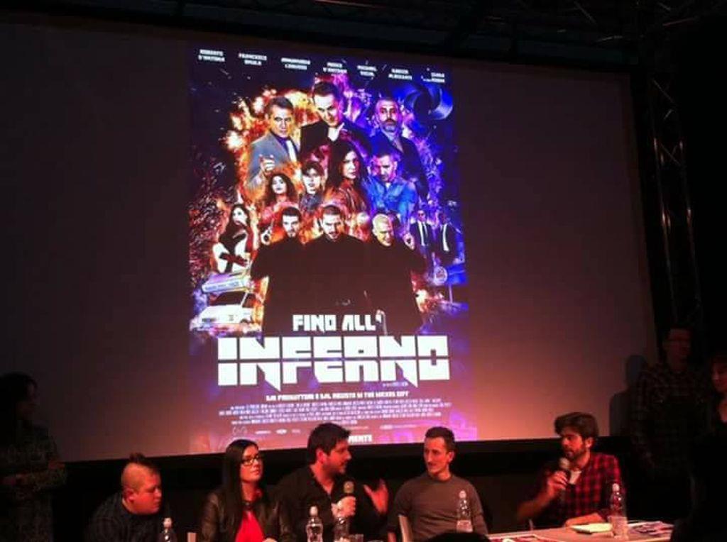 Presentazione di Fino all'Inferno al Cartoomics di Milano