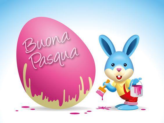 Una vignetta - Immagini divertenti per auguri di Buona Pasqua