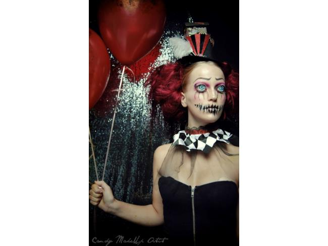 Clown con palloncini