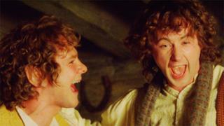 I due simpatici Hobbit de Il Signore degli Anelli