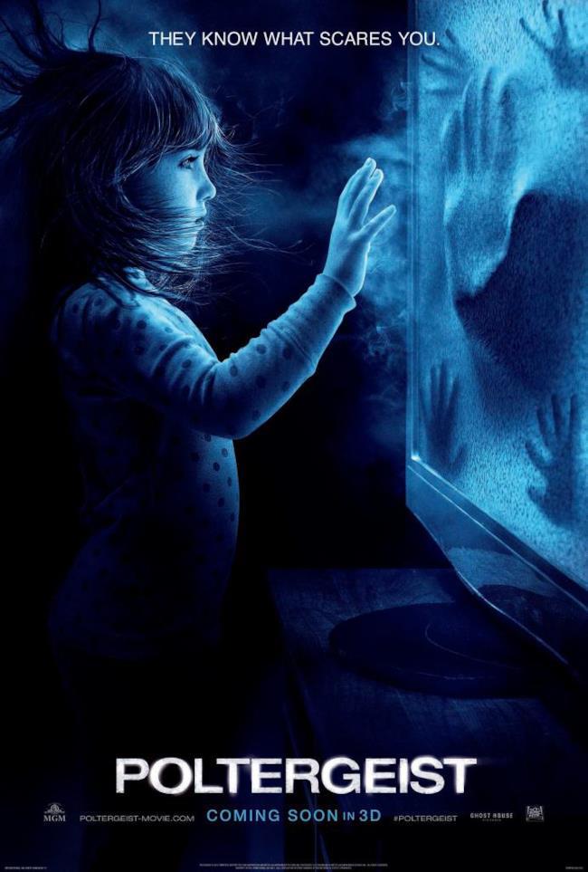 Il poster di Poltergeist rende omaggio al film originale