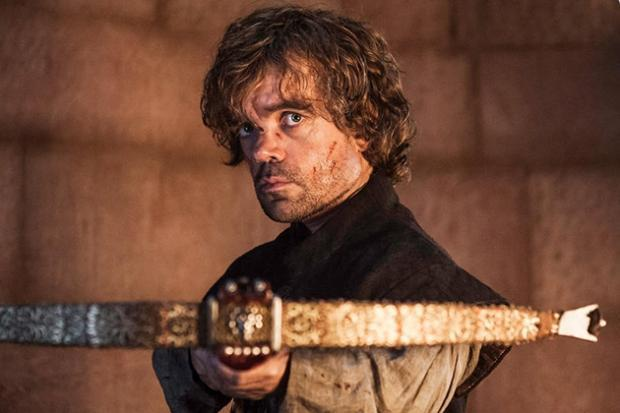 Tyrion Lannister nell'episodio finale di Game of Thrones