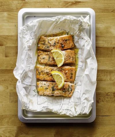 Il nostro salmone pronto da gustare