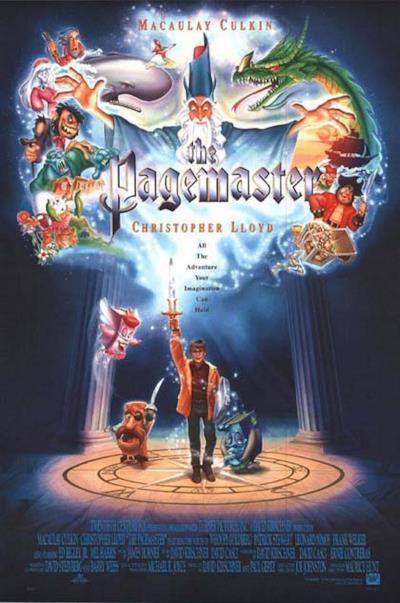 La locandina de Pagemaster - L'avventura meravigliosa