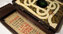 Una delle copie originali del gioco Jumanji