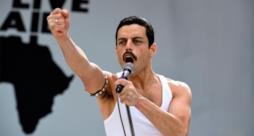 La foto di Rami Malek nei panni di Freddie Mercury