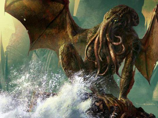 Immagine del dio Cthulhu