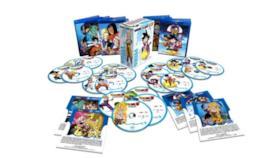 La versione Blu-ray Disc della collection di film e special TV di Dragon Ball